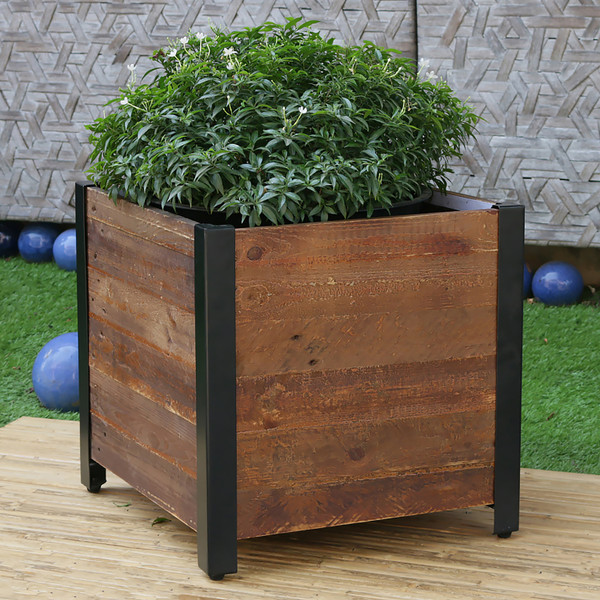 Grapevine Square Garden Planter