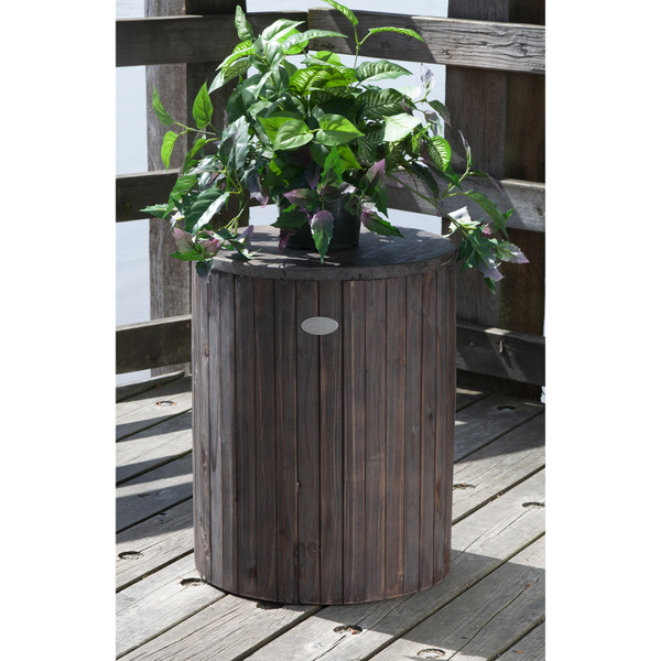 Recycled Wood Plant Stand