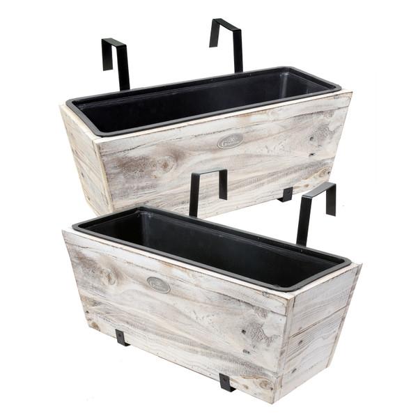 Urban Garden Recycled Wood Deck Box