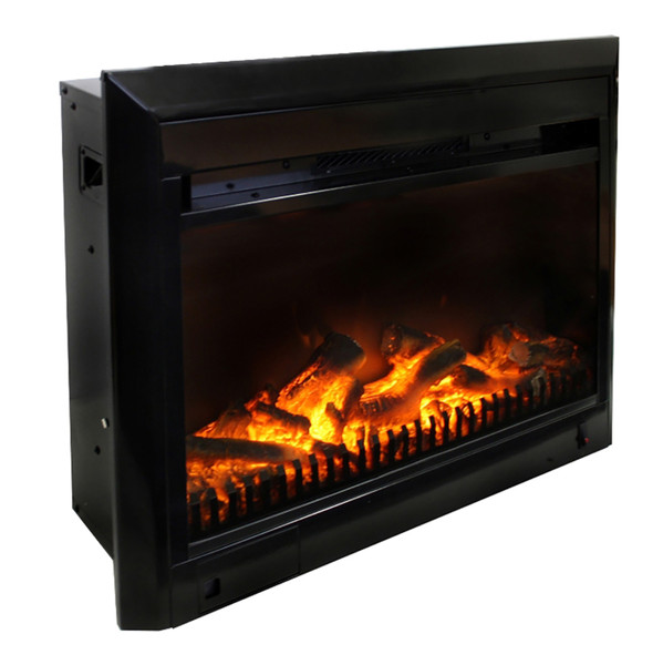 25 inch electric fireplace insert