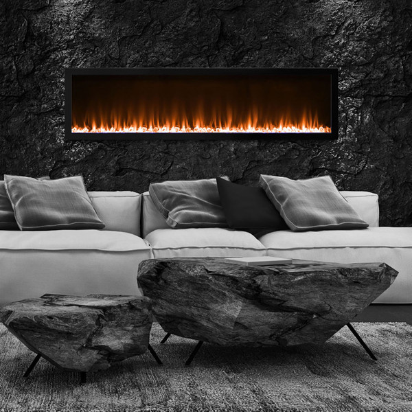 Kennedy 60 inch fireplace