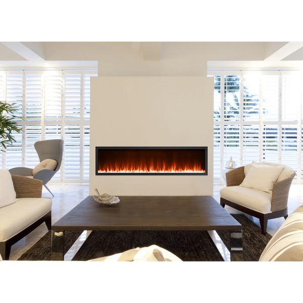 Kennedy 72 inch fireplace