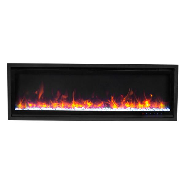 Kennedy smart electric fireplace
