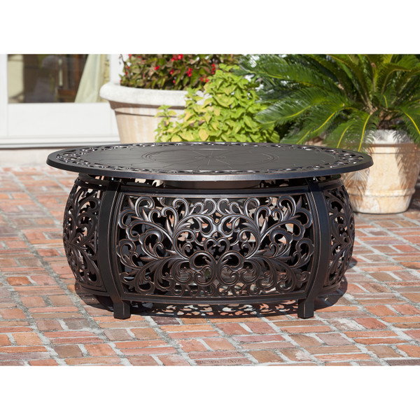 Angie Aluminum Fire Table
