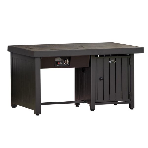 Offset Aluminum Fire Table