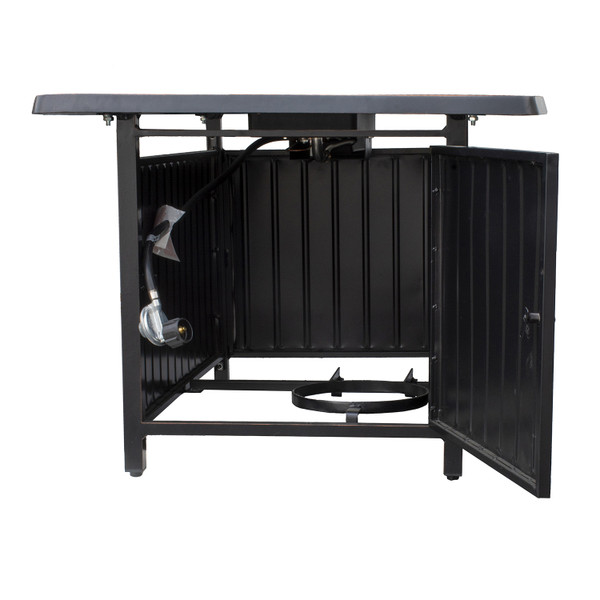 Dylan Aluminum Fire Table