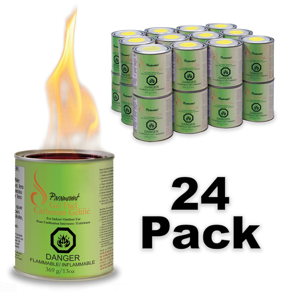Gel fuel with citronella