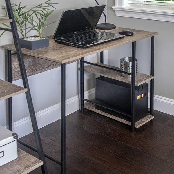 Industrial Look Computer Desk