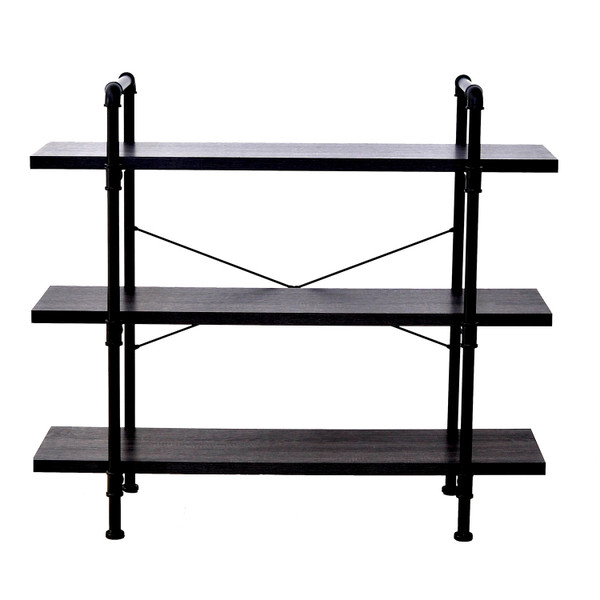 Pipefitter Three Tier Bookshelf
