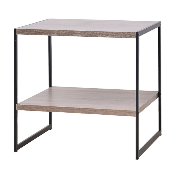 Industrial-look side table