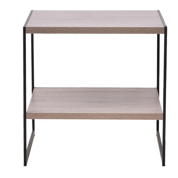 Industrial-look side table