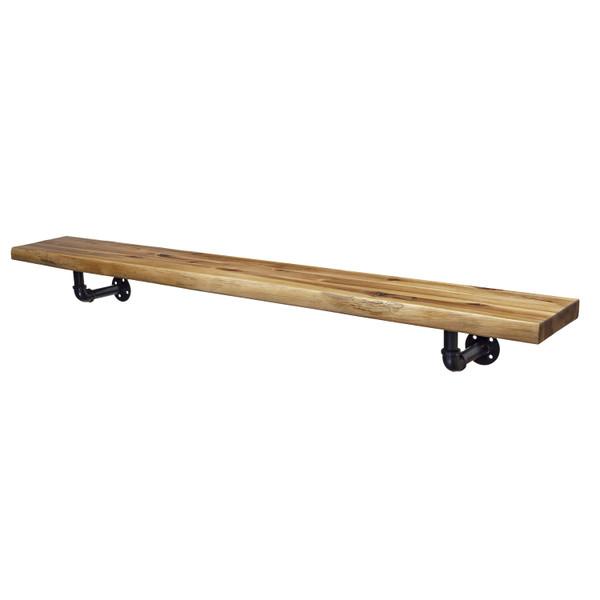 45 inch Wood Live Edge Mantel