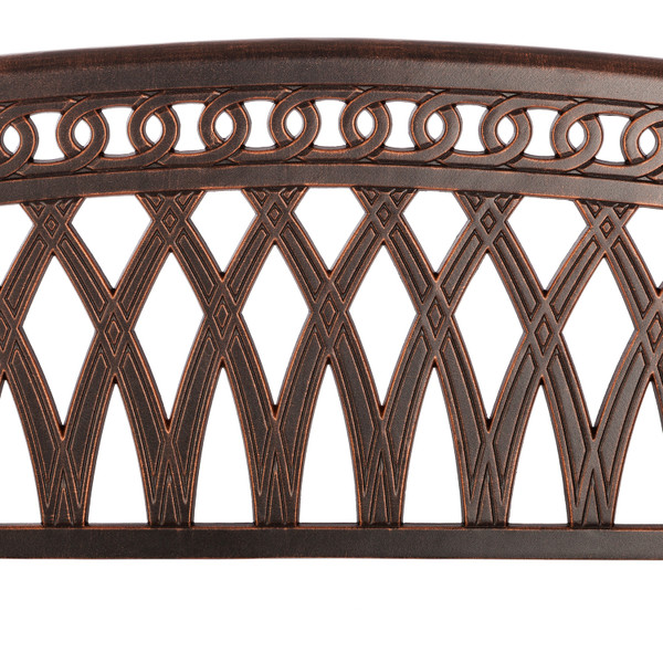 Paradise Cast Aluminum bench