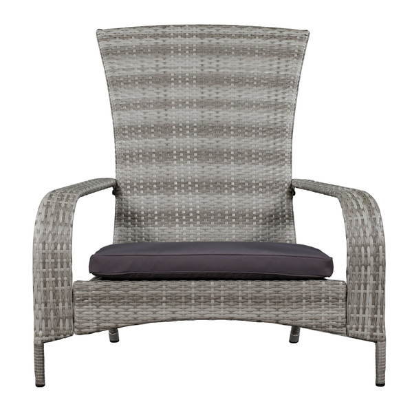 Light grey muskoka chair