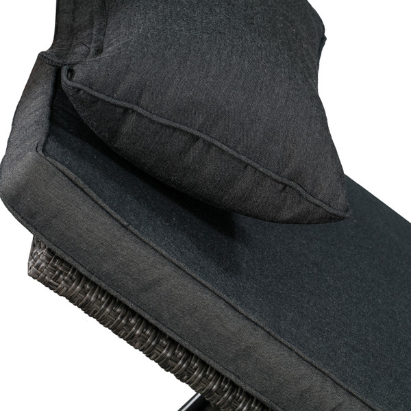 Laura KD Lounger, grey