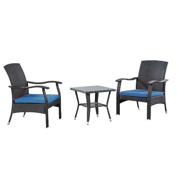 Whylie 3 Pc Wicker Chat Set