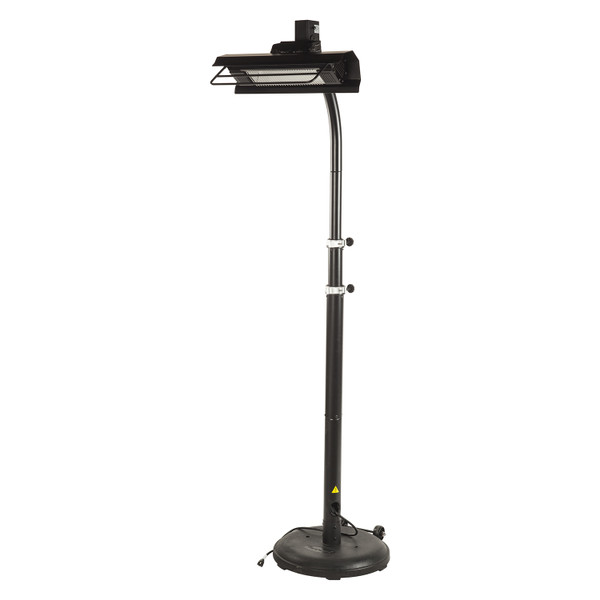 Black Infrared Patio Heater