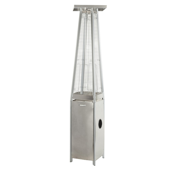 Flame Patio Heater, Stainless