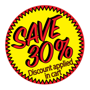 JRH - Save 30% Badge